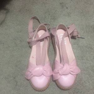 Platform sneaker sandal